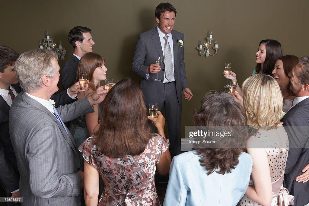 The best mans speech : Stock Photo
