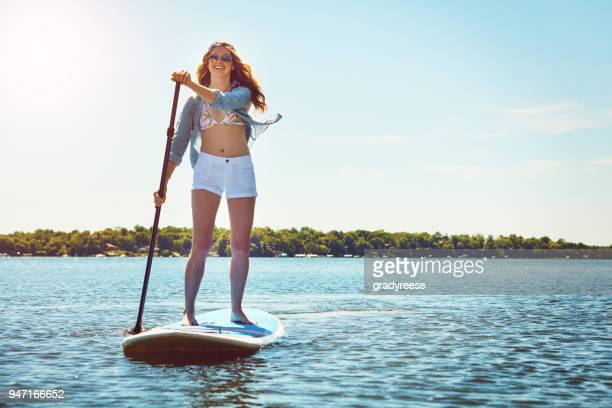 the best moments are on my board - paddleboard stock pictures, royalty-free photos & images