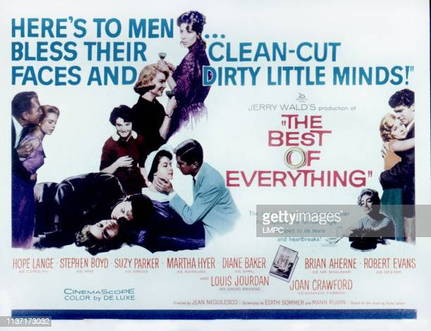 The Best Of Everything lobbycard Brian Aherne Diane Baker Hope Lange Suzy Parker Robert Evans Stephen Boyd Joan Crawford 1959