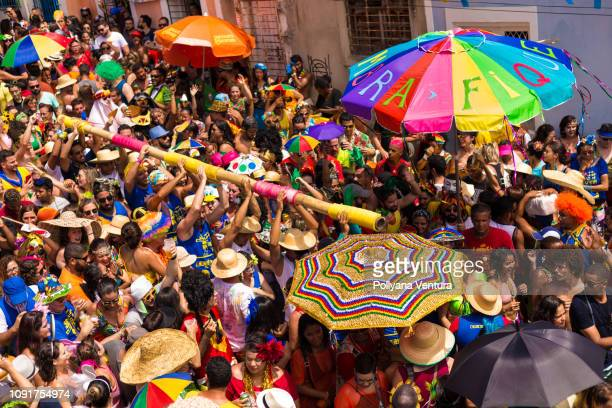 the best street carnival in the world - recife stock pictures, royalty-free photos & images