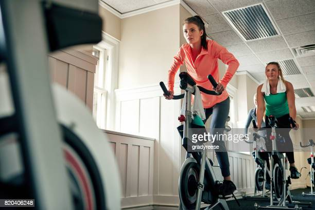 The best thing I did was join a spinning class