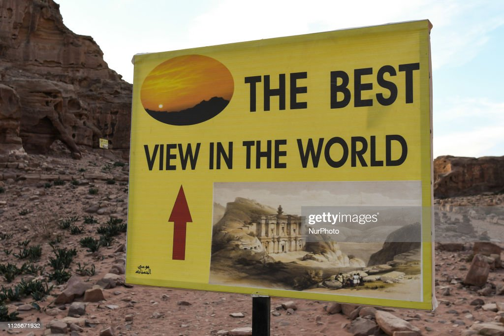 Petra, One Of The New 7 Wonders Of The World : News Photo