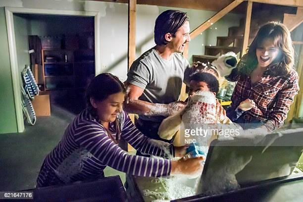 US 'The Best Washing Machine in the Whole World ' Episode 107 Pictured Milo Ventimiglia as Jack Mandy Moore as Rebecca