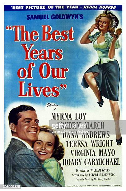 'The Best Years of our Lives' a 1946 American drama film starring Myrna Loy