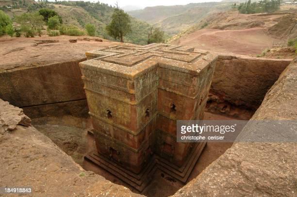 The Bet Giyorgis Lalibela in Ethiopia