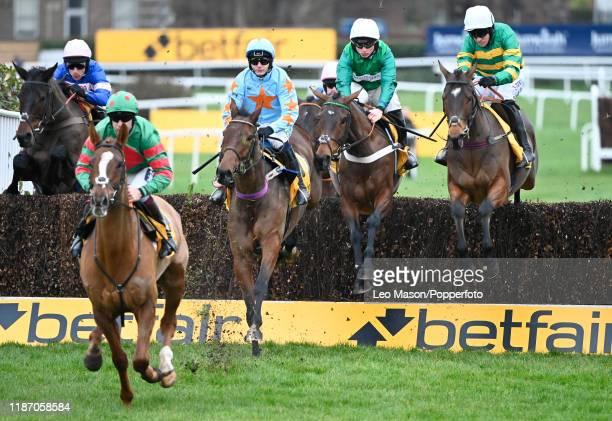 The Betfair Tingle Creek Chase at Sandown Park Racecourse on December 07, 2019 in Esher, England.