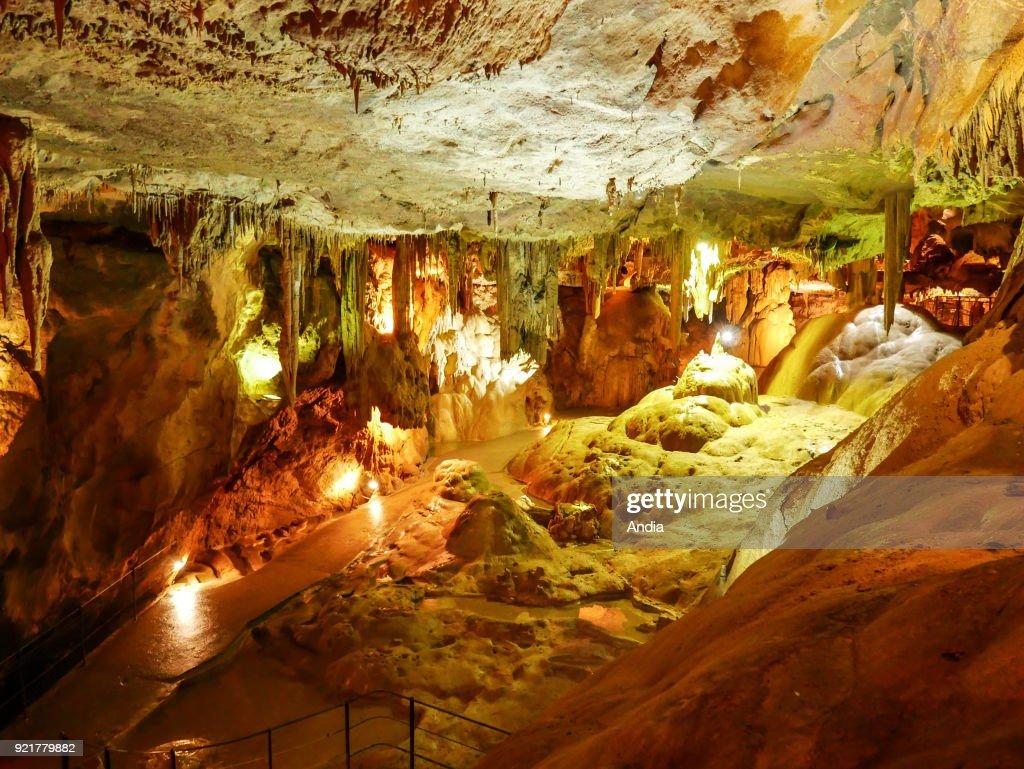 The Betharram Caves. : News Photo