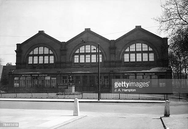 The Bethnal Green Museum in East London reopening for the first time since the beginning of the war 1st May 1950 The building became the the VA...