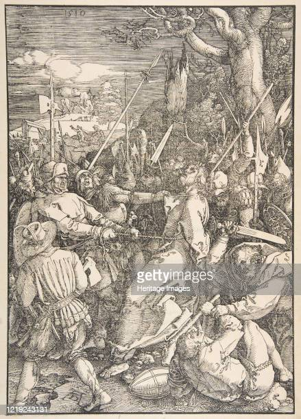 The Betrayal of Christ from The Large Passionnd Artist Albrecht Durer