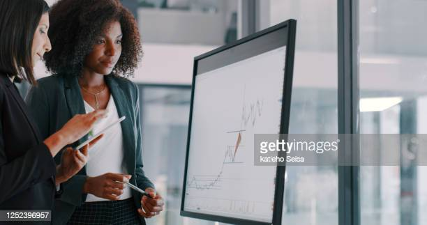 the better they work together the bigger the profits - data stock pictures, royalty-free photos & images
