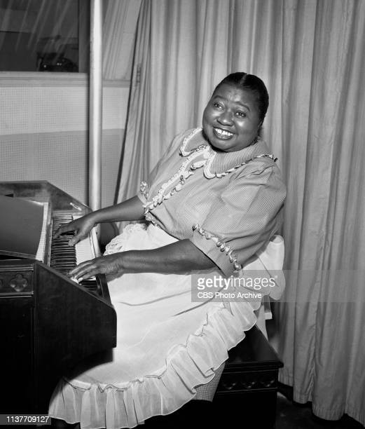 The Beulah Show a CBS Radio situation comedy August 27 1948 Hollywood CA Pictured is Hattie McDaniel