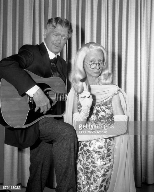 The Beverly Hillbillies The Beverly Hillbillies episode Flatt Clampett and Scruggs Pictured is Buddy Ebsen and Irene Ryan Originally broadcast March...