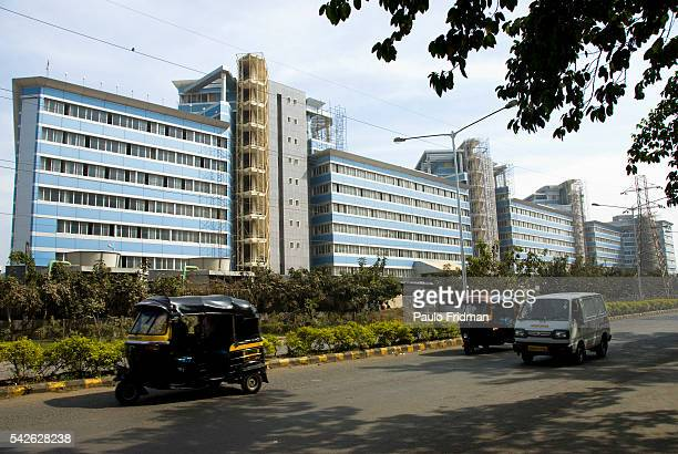 The Bharat Diamond Bourse the largest diamond bourse in the world Bandra Kurla Complex a planned commercial complex Mumbai Maharastra India