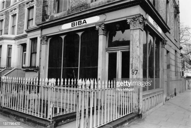 The Biba boutique in Abingdon Road Kensington London 4th March 1965