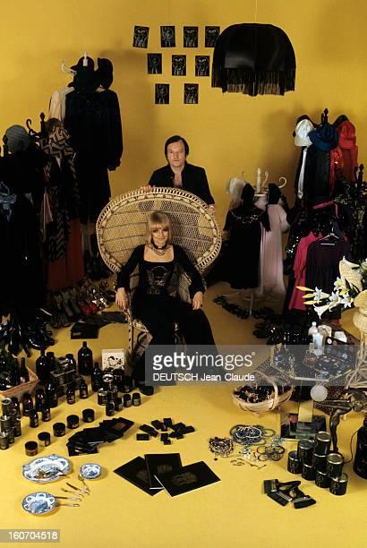 The Biba Fashion Store In London Londres novembre 1973 reportage sur le magasin de mode BIBA ouvert dans Kensington en 1964 par Barbara HULANICKI Une...