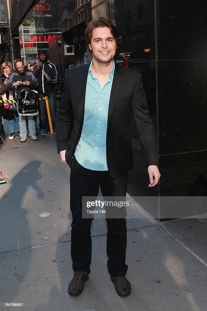 'The Bible' actor Diogo Morgado visits 'Good Morning America' at GMA Studios in Times Square on March 28, 2013 in New York City.