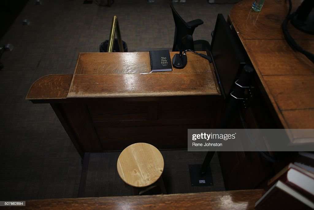 Inside Courtroom 125 at Old City Hall. This is the courtroom where Jian Ghomeshi trial will be held. : News Photo
