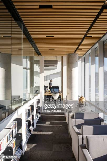 The Bibliothèque du Boisé Montreal Canada Architect Lemay Architectes 2013 Several reading and study nooks offer quiet and privacy to the library...