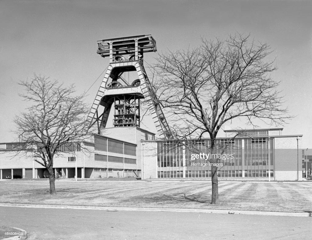 The Big A, Hem Heath Colliery, Trentham, Staffordshire, 1960. Artist: Michael Walters : News Photo