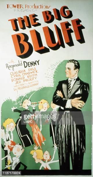 The Big Bluff poster US poster Reginald Denny 1933