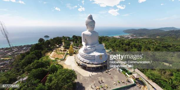 the big buddha phuket in thailand - phuket province stock pictures, royalty-free photos & images