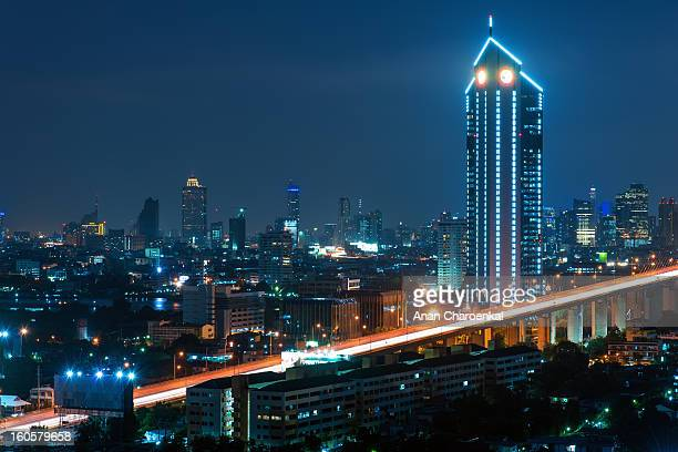 CONTENT] The big building of a bank in Thailand is the symbol of finance expansion in this country