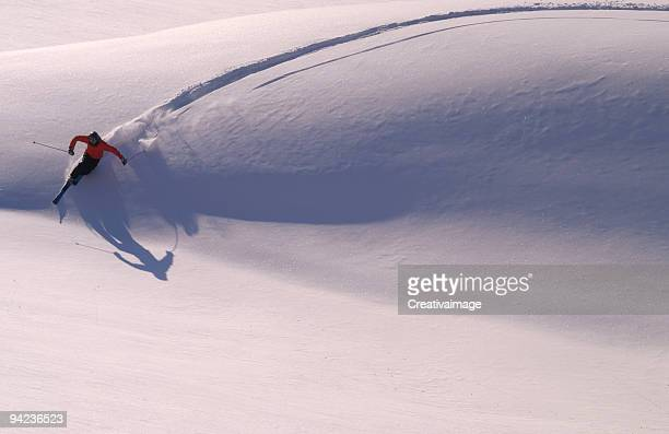 la grande curva - telemark stock pictures, royalty-free photos & images