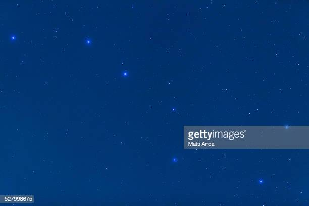the big dipper also known as the plough - grande carro costellazione foto e immagini stock