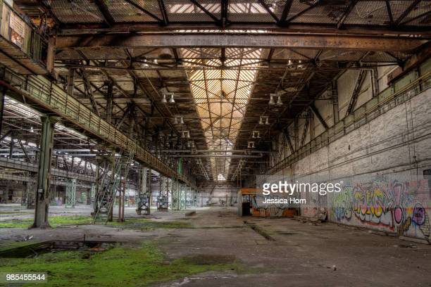 the big hall - abandoned stock pictures, royalty-free photos & images