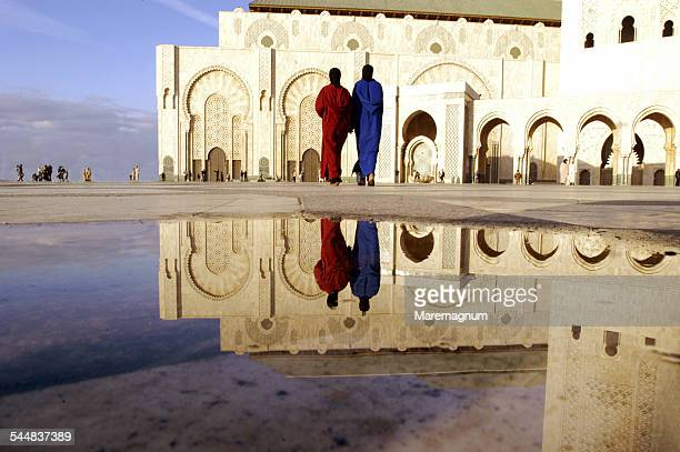 The big mosque, reflections