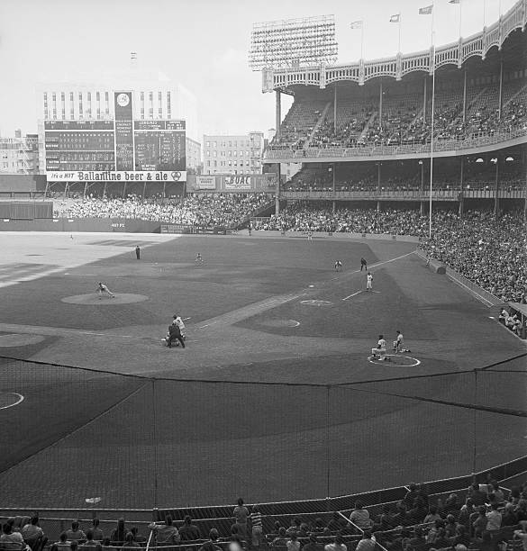 Baseball Game At Yankee Stadium Pictures Getty Images