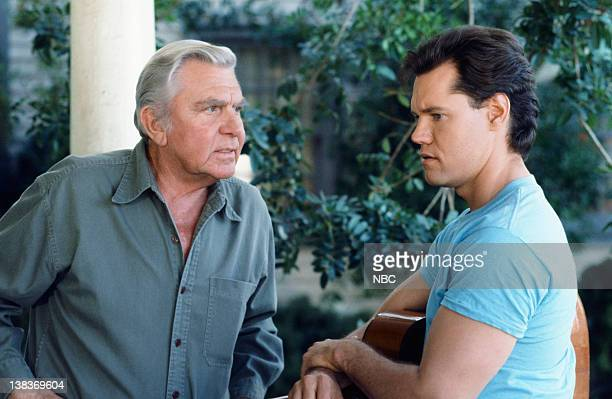 MATLOCK The Big Payoff Episode 16 Pictured Andy Griffith as Benjamin Matlock Randy Travis as Billy Wheeler