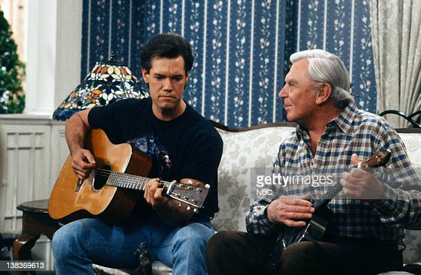 MATLOCK The Big Payoff Episode 16 Pictured Randy Travis as Billy Wheeler Andy Griffith as Benjamin Matlock
