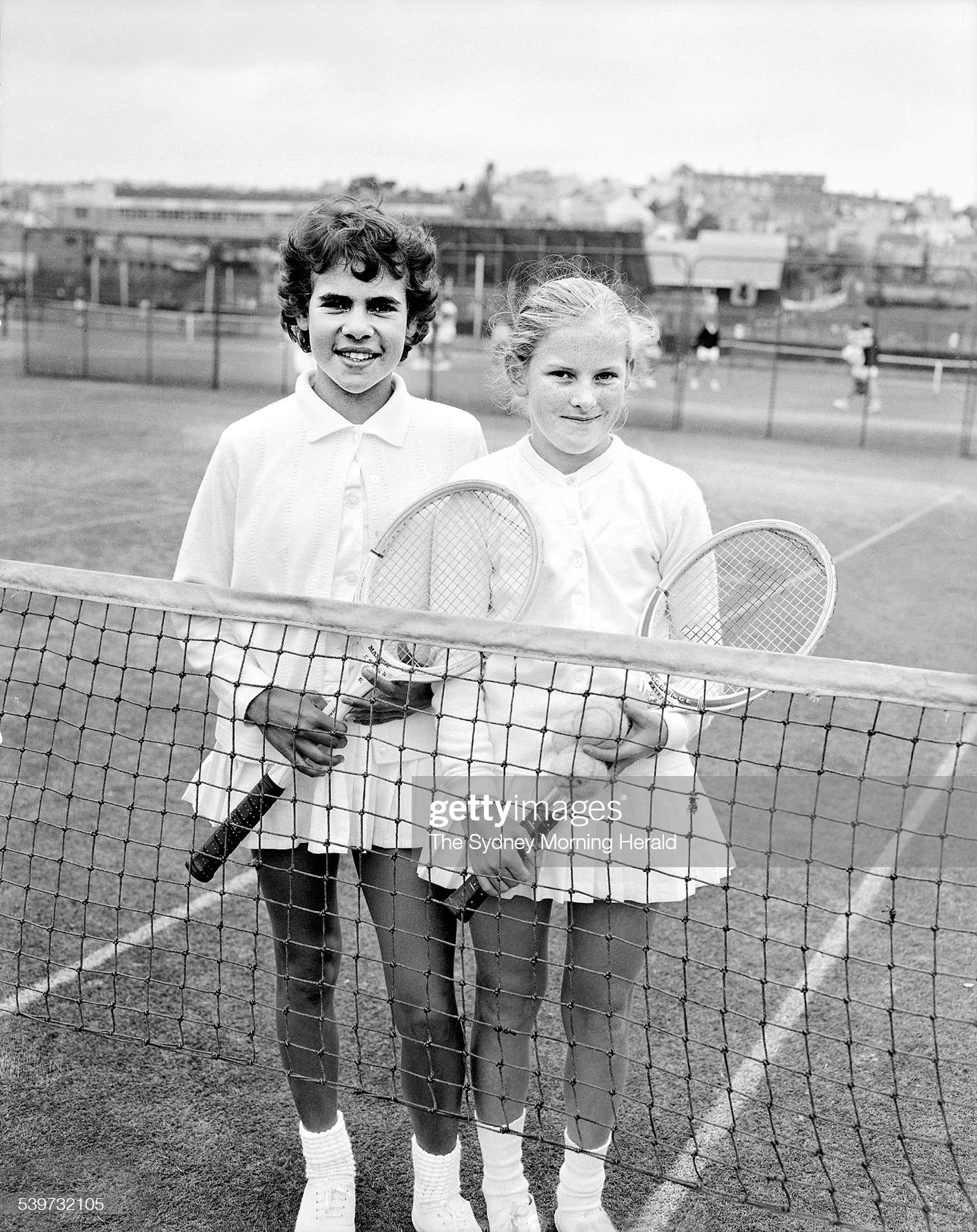 The Big Picture. Just a little kid from the country: the talent of tennis player : News Photo