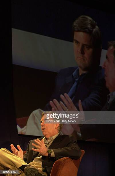 'The Big Picture' media conference at the Grand Hyatt Hotel/ AOL Time Warner CEO Gerald Levin and Chairman of the Board Steve Case
