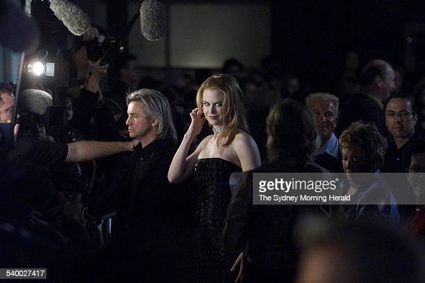 The Big Picture The doyens of contemporary Australian film director Baz Luhrmann and actress Nicole Kidman arrive at the premiere of Moulin Rouge 20...