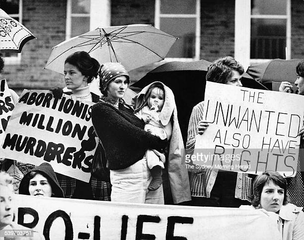 The Big Picture The fight to legalise abortion was one of the big issues of the 1970s These antiabortionists demonstrate outside a conference on...