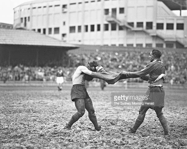 The Big Picture When Australia faced England for the Ashesdeciding rugby league match in 1950 the Sydney Cricket Ground was so wet 40 tons of sand...