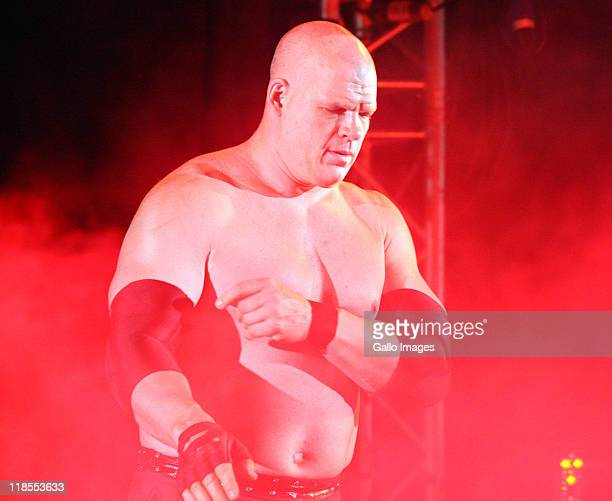 The Big Red Monster Kane during the WWE Smackdown Live Tour at Westridge Park Tennis Stadium on July 08 2011 in Durban South Africa