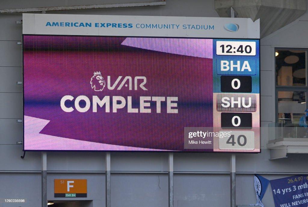 Brighton & Hove Albion v Sheffield United - Premier League : News Photo