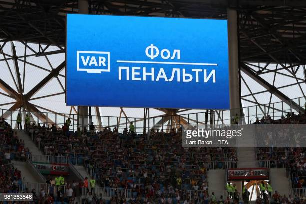 the-big-screen-inside-the-stadium-shows-that-a-var-review-has-in-picture-id981363846?s=612x612