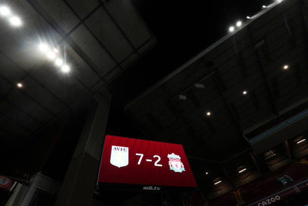 GBR: Aston Villa v Liverpool - Premier League