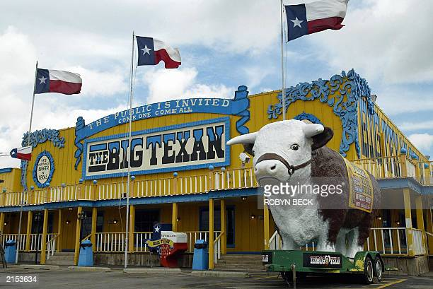 The Big Texan Steak Ranch in Amarillo Texas 06 July 2003 The Big Texan a 450seat restaurant is a Route 66 attraction which does a bustling business...