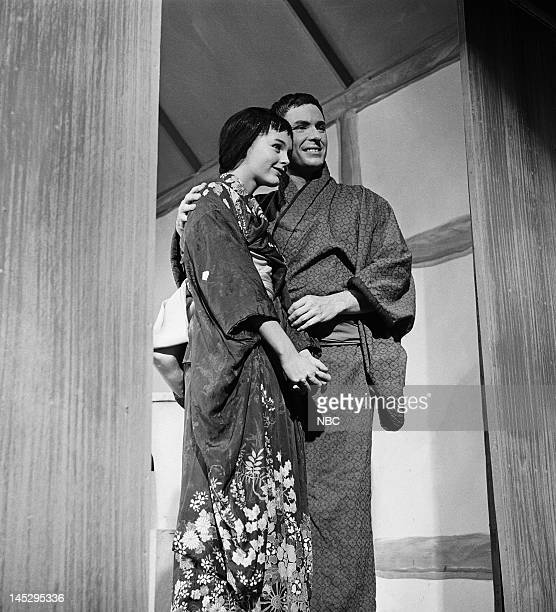 HOUR The Big Wave Episode 202 Pictured Carol Lynley as Setsu Rip Torn as Jiya Photo by NBC/NBCU Photo Bank via Getty Images