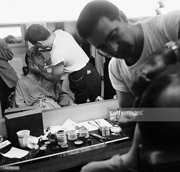 HOUR 'The Big Wave' Episode 202 Pictured Hume Cronyn as Wise Old Gentleman makeup artist Bob O'Bradovich Photo by NBC/NBCU Photo Bank via Getty Images