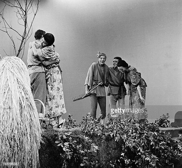HOUR 'The Big Wave' Episode 202 Pictured Rip Torn as Jiya Carol Lynley as Setsu Joseph Anthony as farmer father Robert Morse as Kino Vivian Nathan as...