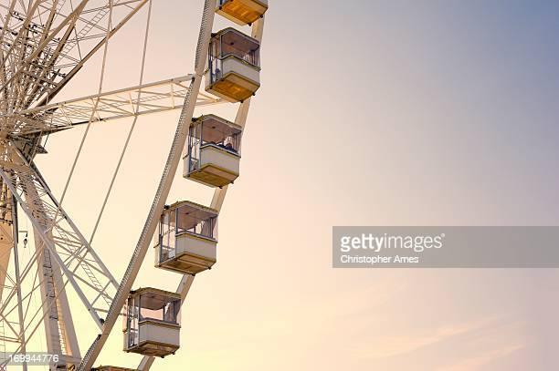 La grande roue à Paris, France