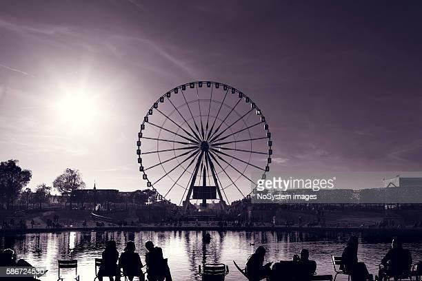 """La grande roue € """" Oeil de Paris"""