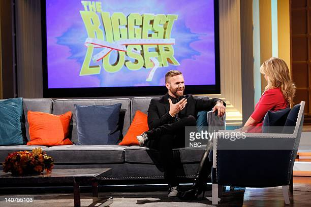 """The Biggest Loser: Where Are They Now?"""" -- Pictured: Bob Harper, Alison Sweeney -- Photo by: Tyler Golden/NBC/NBCU Photo Bank"""