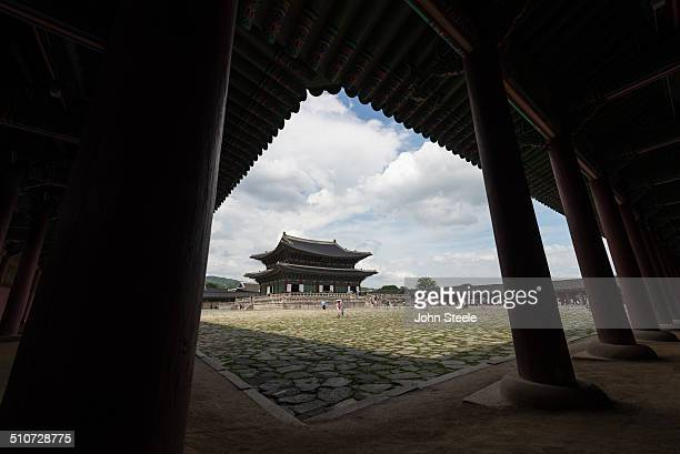 The biggest palace located in Seoul Korea